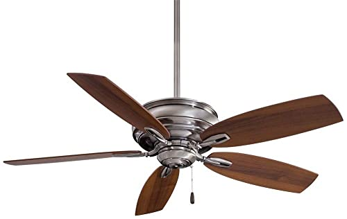 Minka-Aire F614-PW Timeless 54 5-Blade Ceiling Fan in Pewter Finish