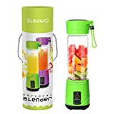 SUNAVO BL-10 Portable Blender Mixer USB Rechargeable,Blender...