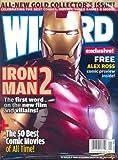 Wizard Magazine #207 Gold (Iron Man 2, Justice League, Alex Ross)