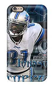 7849499K47538036 Iphone 6 Calvin Johnson Print High Quality Tpu Gel Frame Case Cover