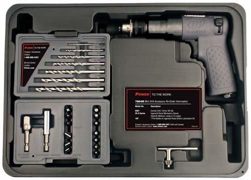 Ingersoll Rand 7804K 1/4-Inch Drive Air Drill and Driver Kit [並行輸入品] B01N7LMRMN