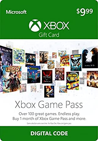 $10 Xbox Game Pass Gift Card - Xbox One [Digital Code]