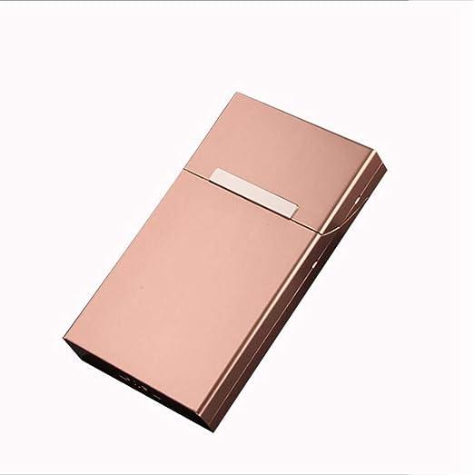 SailorMJY Caja Cigarrillo, Pitillera Cigarrillos la Caja de Concha magnética es Ultra pequeña y portátil fácil de Poner en el Bolsillo (Puede acomodar 20 Humos Finos Regulares): Amazon.es: Hogar
