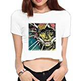 Black Tusk The Fallen Kingdom Crop Top Short Sleeve T Shirt T Shirts T Shirts Cool Girl