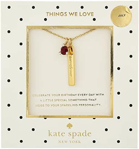 kate spade new york July Ruby Pendant Necklace