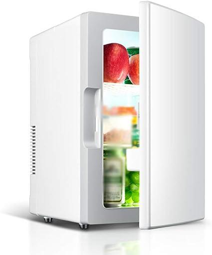Refrigerador del Coche, 18l Mini Nevera Congelador 12v / 220v Nevera PortáTil EléCtrica Y La Incubadora, para Coches Y Familias, Acampar Al Aire Libre ...