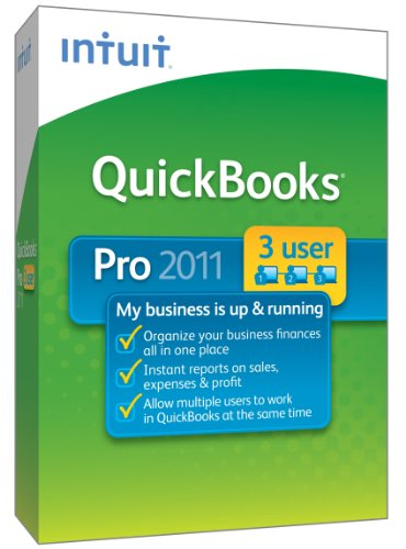 QuickBooks Pro 3-User 2011 - [Old Version]