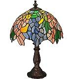 Meyda Tiffany 133348 Lighting 15'' Height Finish: Orange Purple/Blue