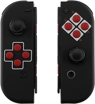 eXtremeRate Carcasa Esmerilada para Nintendo Switch Joy-con, Funda ...