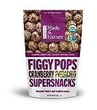Made in Nature Organic Super Snacks, Cranberry Pistachio Figgy Pop, 20 Ounce