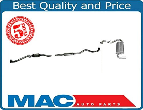- New All Wheel Drive Exhaust System for Toyota Matrix & Pontiac Vibe 2003-2006