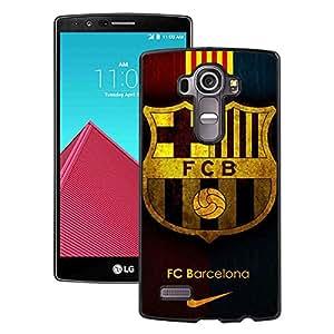 Fc Barcelona Black LG G4 Screen Phone Case Genuine and Unique Design