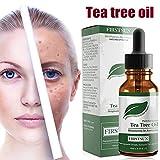 Ocamo Facial Care Essential Oil Tea Tree Essential Oil Shrink Pores Acne Removal Oil Control Facial Massage Care Essential Oil 10ml