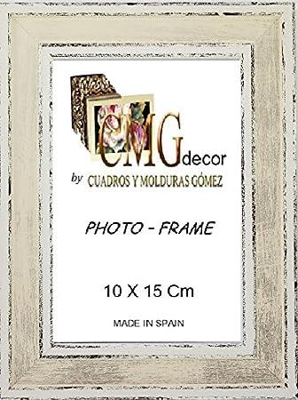 Cmgdecor Set Von 2 Bilderrahmen Aus Holz Verzierte Mehreren Farben