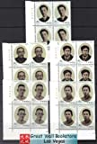 China Stamps - 2001-11 , Scott 3113-07 Early Leaders of the Communist Party of China (1) - Imprint Block of 4 - MNH, F-VF
