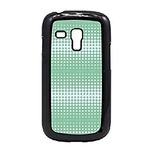 Case Fun Case Fun Long Wave in Mint Grey by Finch Five Snap-on Hard Back Case Cover for Samsung GalaxyS3 Mini (I8190)