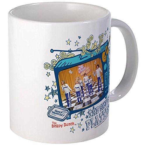 (CafePress - The Brady Bunch: The Silver Mug - Unique Coffee Mug, Coffee Cup)