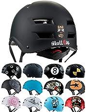 Skullcap® BMX Helmet ☢ Skate Helmet ☢ Bike Helmet ☢ Longboard