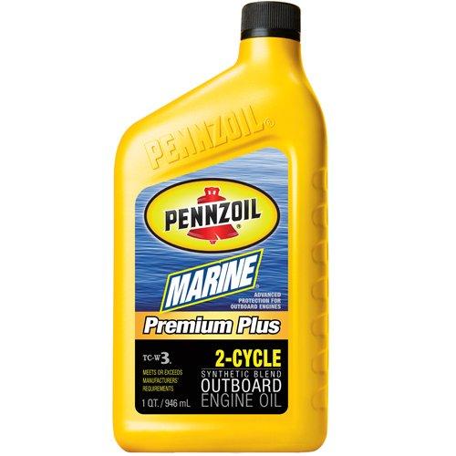 Pennzoil 3871 Marine Premium Plus船外機2サイクル( tc-w3 ) 1クォート B000AOEJOY