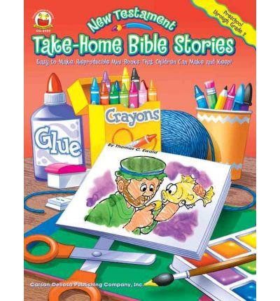 -Home Bible Stories: Easy-To-Make, Reproducible Mini-Books That Children Can Make and Keep )] [Author: Thomas C Ewald] [Dec-2003] (Testament Take Home Book)