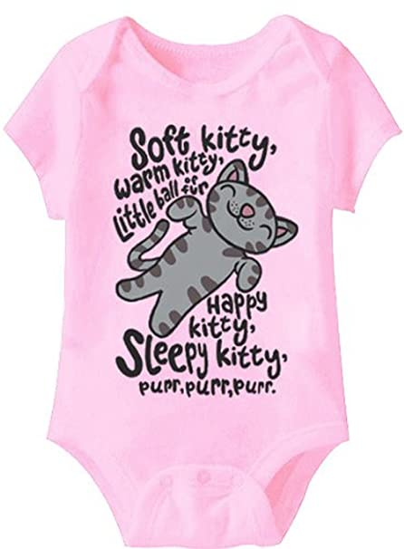 The Big Bang Theory con letra de la canción suave Kitty rosa pijama silla de coche