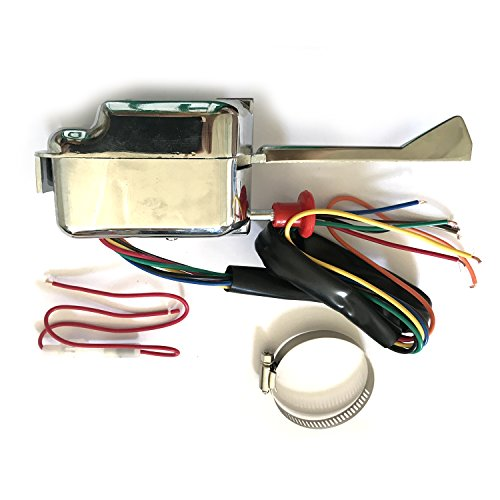 - HL101 12V General Chrome plate Street Hot Rod Turn Signal Switch Left Side for Buick Ford GM