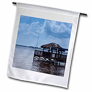 Florene Water Landscape - Pleasure On The River - 18 x 27 inch Garden Flag (fl_7794_2)