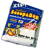 Scoop and Bag Odor-Seal Cat Litter Waste Collection Bags (21 Waste Bags), My Pet Supplies