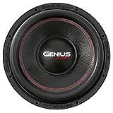 "Genius N7-15D4 15"" 1000 Watts-Max Car Audio Subwoofer Nitro XP Dual 4-Ohms"