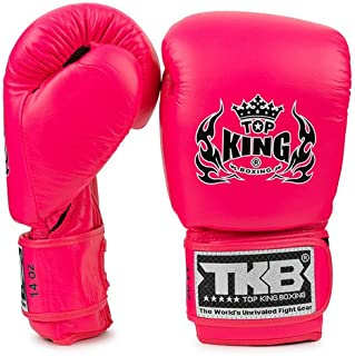 TOP KING Boxing Top King Double Lock Air Gants de Boxe Rose Fluo
