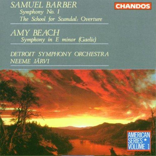 (Samuel Barber: Symphony No. 1 / Amy Beach: Symphony in E Minor (Gaelic))