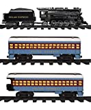 Lionel Polar Express Train Set with Bonus Santa's Bell - Fun, Interactive, Ready to Play Holiday Model Train Set with Working Headlight, Whistle & Bell