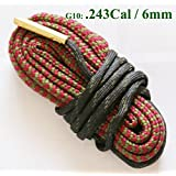 New Bore Snake Cleaning Boresnake Gun Rfile Barrel Cleaner .243 Caliber & 6mm Hunting Kit