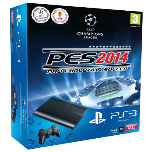PlayStation 3 – Consola 12 GB + Pro Evolution Soccer 14