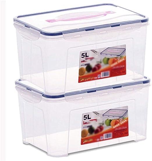 GOGO Contenedor de almacenamiento de cereales Set |Nuevo diseño ...