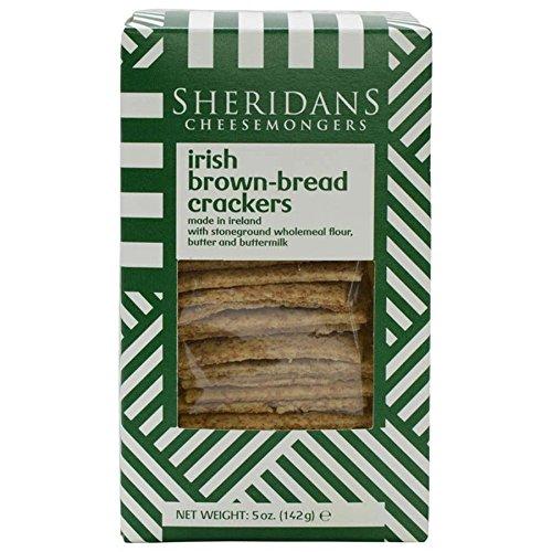 - Sheridans Irish Brown Bread Crackers