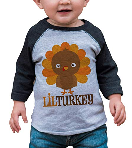 Baseball Halloween Outfits (7 ate 9 Apparel Baby Boy's Little Turkey Thanksgiving 18 Months Grey)