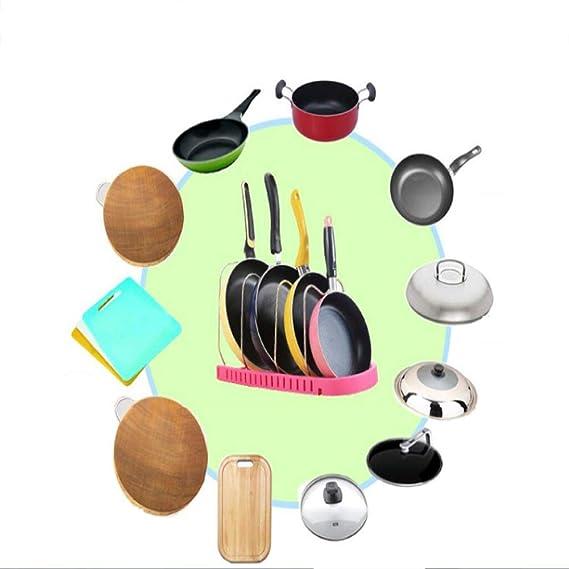 Estilo Europeo Estante De Cocina Pot Almacenamiento Bienes Diversos ...