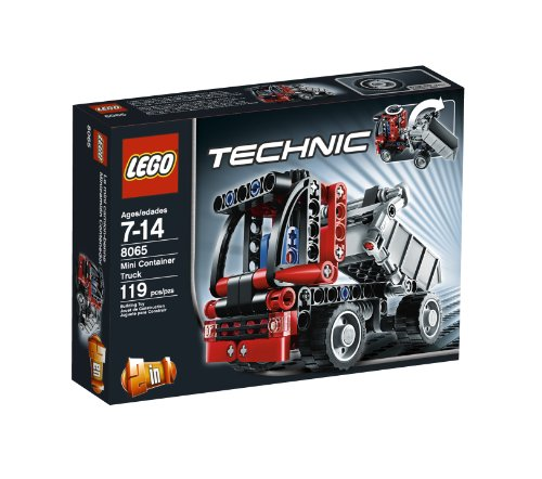 LEGO Technic Mini Container Truck 8065 (Pick Up Technics)