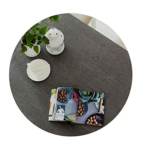 COOCOl Great Cotton Linen Table Cloth Waterproof Square