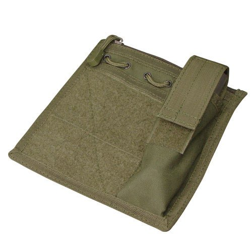 Green Flash Velcro - Condor MA30 Admin Pouch w/Flashlight pouch - OD Green