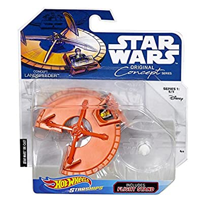 Hot Wheels Star Wars Prototype Land Speeder Vehicle: Toys & Games