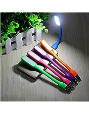 Freenfitmall Mini lampa USB, mini lampa USB LED laptop światło do power bank, przenośna elastyczna lampka nocna lub lampa do czytania (3 szt., czarna)