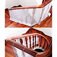 Red de seguridad Design61 para barandal de escalera