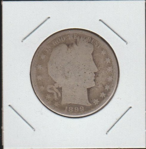 1899 Barber or Liberty Head (1892-1915) Half Dollar About Good