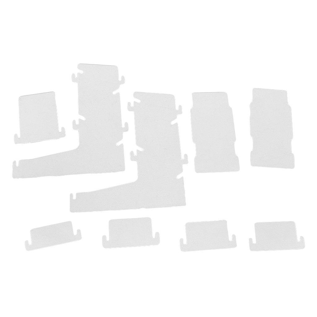 MagiDeal Dice Tower Transparent en Plastique Jouet Diy pour Jeu de Dés et de Prisme