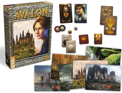 Devir- Ávalon Juego de Mesa, Color (BGRESIAV): Amazon.es: Juguetes ...