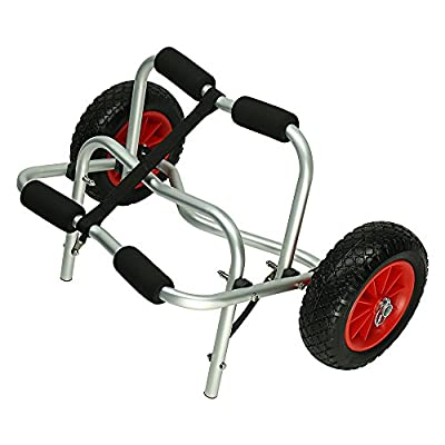 MSC Kayak Cart Kayak Trolley Boat Canoe Carrier Tote Dolly