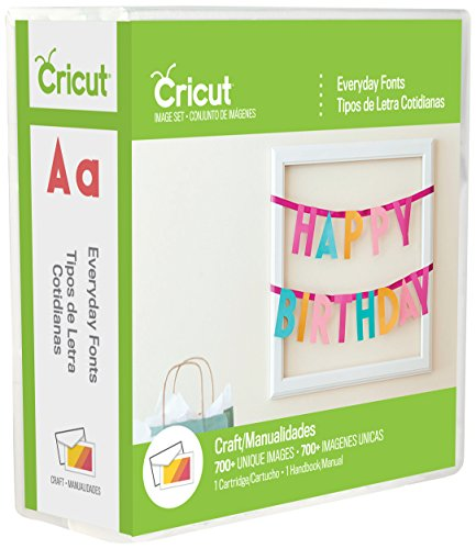 Price comparison product image Cricut 2002372 Everyday Font Cartridge for Craft