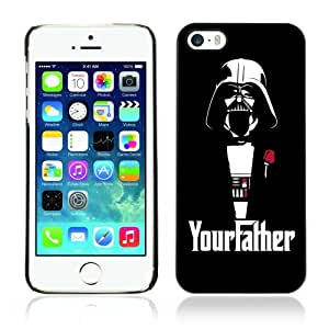 CaseCaptain Black Hard Back For SamSung Galaxy S3 Phone Case Cover ( Funny Darth Vader Godfather )
